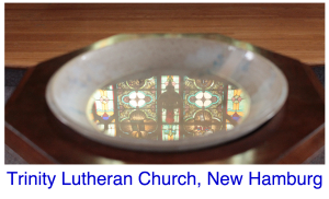 This is the masthead of the weekly emailer. Sign up and receive news of the congregation weekly. Link at bottom right of each page.